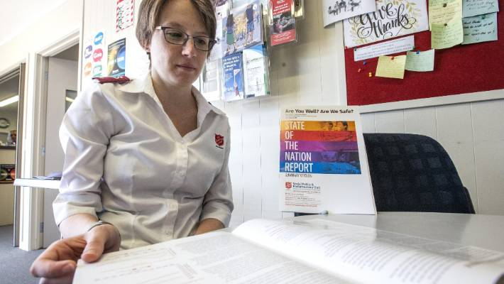 """Timaru Salvation Army corps officer Emma Howan said she and her husband, fellow officer Jacob Howan, had noticed the need """"for work in addiction and related harm areas growing""""."""