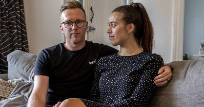 Shayden and Georgia Whipps were burgled on Monday. Last year they lost three people to cancer.