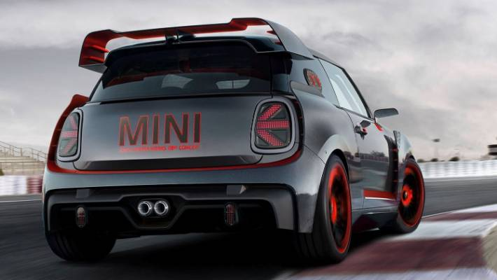 The Concept GP hinted at the new JCW GP's appearance back in 2017 and the wings are similar.