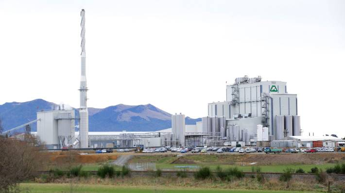 The Mataura Valley Milk plant at McNab, near Gore.