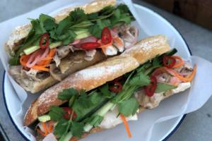 The banh mi came into being when French colonialism met migration following the partition of Vietnam in 1954.