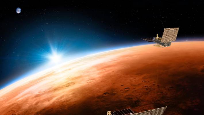Mars One promised to send people to Mars on a one-way trip that would be funded by a TV show.
