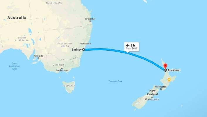 Tourist ridiculed online for asking how to drive from Sydney to New ...