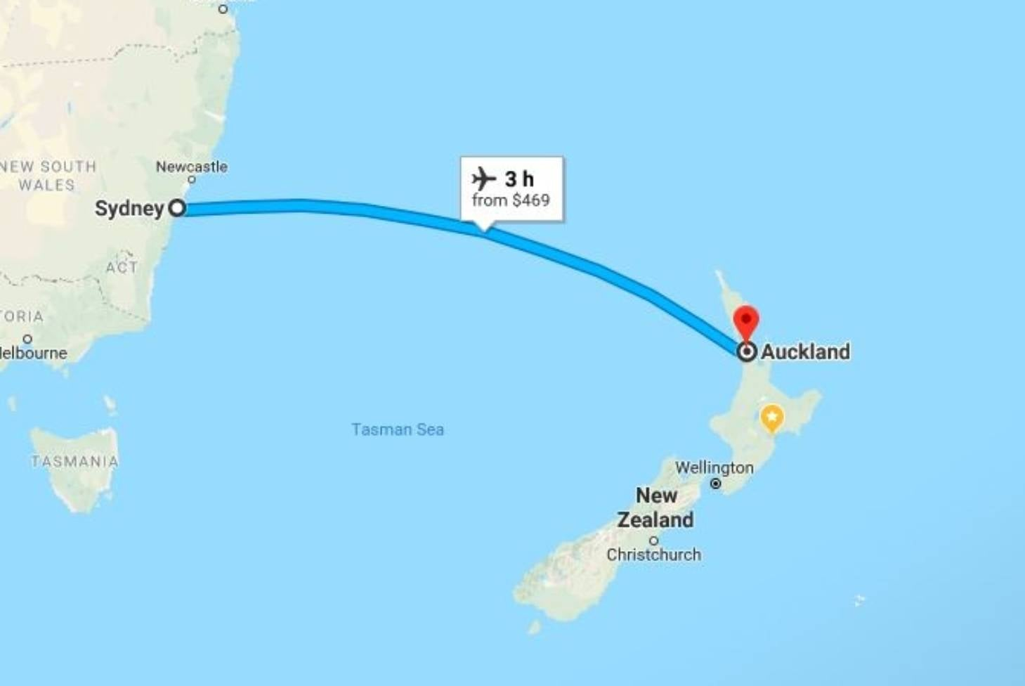 Where Is Wellington New Zealand On The Map.Tourist Ridiculed Online For Asking How To Drive From Sydney To New