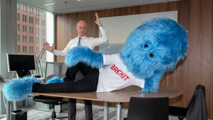 Dutch minister enlists blue monster to prepare firms for Brexit