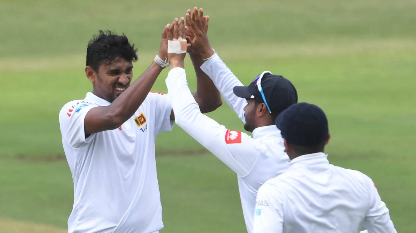 Sri Lanka chasing 197 for unexpected series win in SAfrica