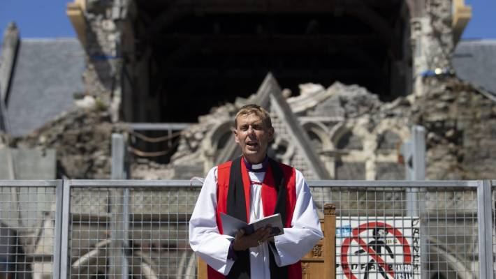 "Christchurch Anglican Bishop Peter Carrell says the restored cathedral, which should be open by 2030, will help make ""the city feel whole again""."
