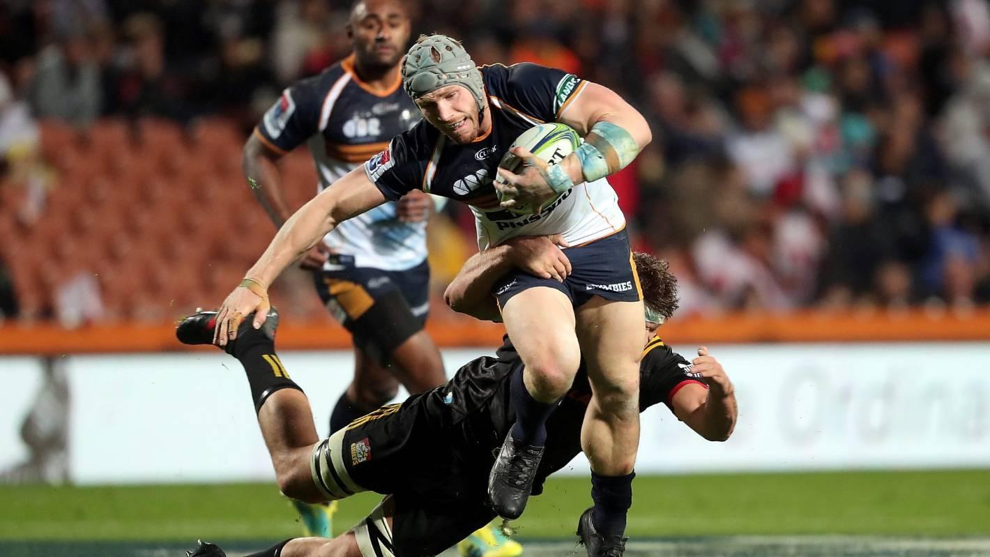 Super Rugby: David Pocock hurt in Brumbies' loss to Rebels
