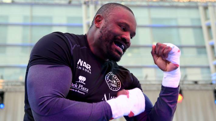 Victorious Dereck Chisora 'perfect opponent' for Joseph Parker