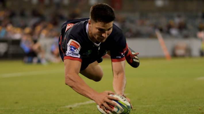 Melbourne Rebels score five tries to topple Brumbies