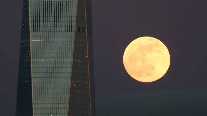 Biggest, brightest supermoon of the year will be visible Monday night