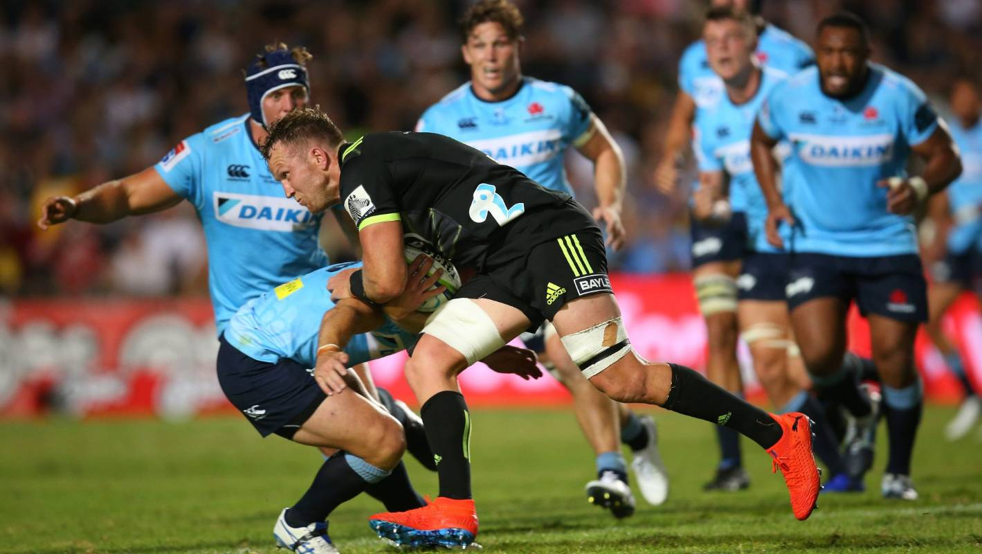 Play-by-play: Crusaders v Hurricanes - Super Rugby week two