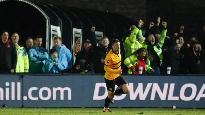 Phil Foden stars as Manchester City end Newport County's FA Cup run