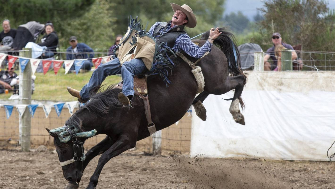 Waimate Rodeo An Entertaining Non Stop Ride Stuff Co Nz
