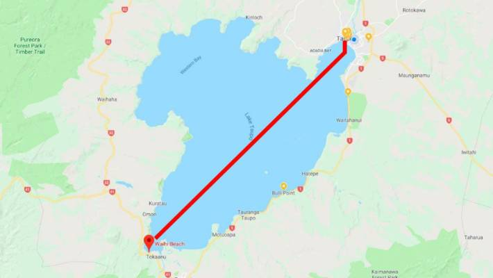 Teenager Caitlin O Reilly Swims The Length Of Lake Taupo