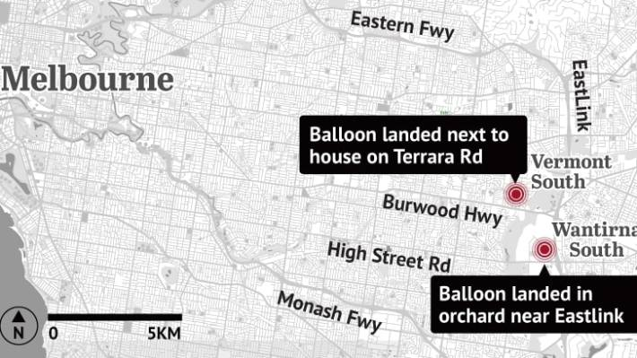 Two Hot Air Balloons Forced To Make Emergency Crash Landings In Melbourne