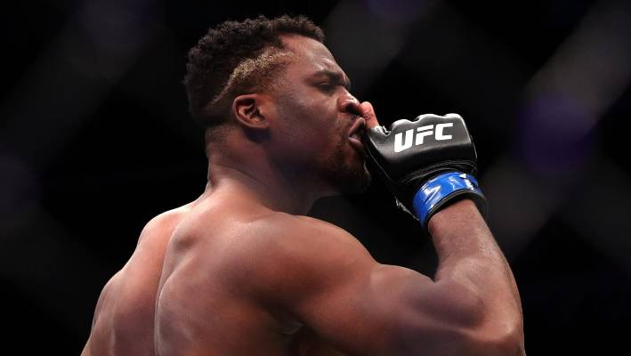 Watch Francis Ngannou Knock Out Cain Velasquez In Just 26 Seconds