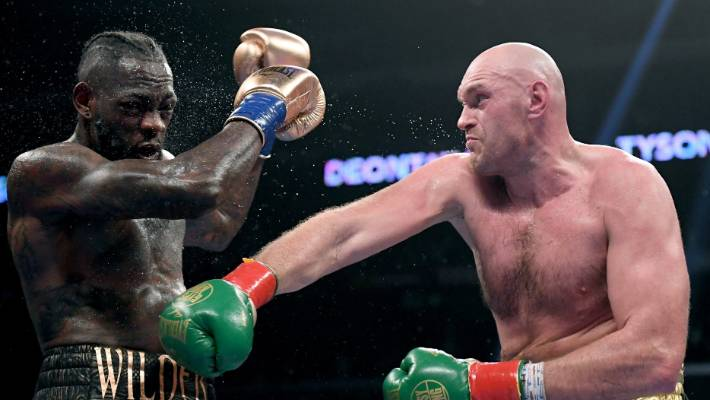 Deontay Wilder hits out at Tyson Fury for axing rematch