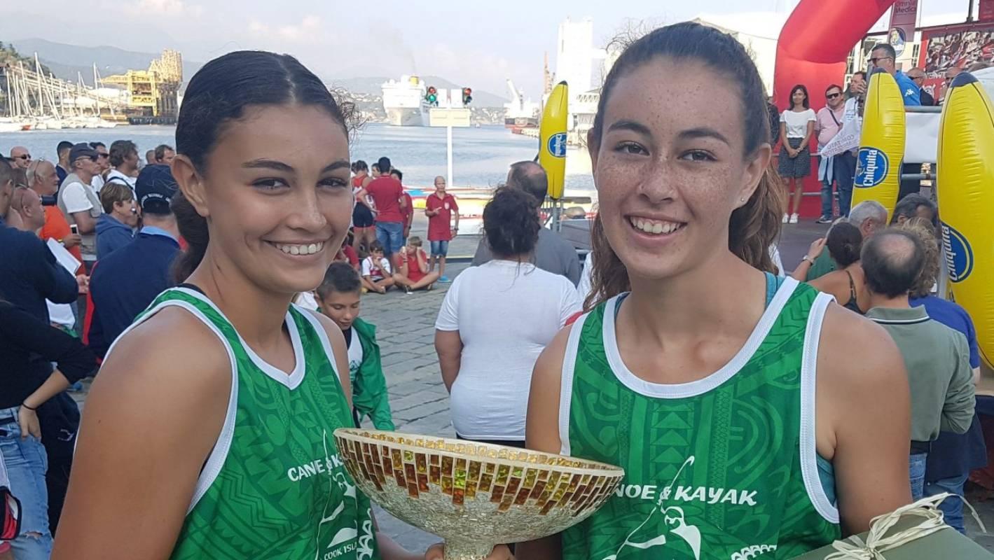 Jade and Liliana Tierney, kayaking siblings who dream huge thumbnail