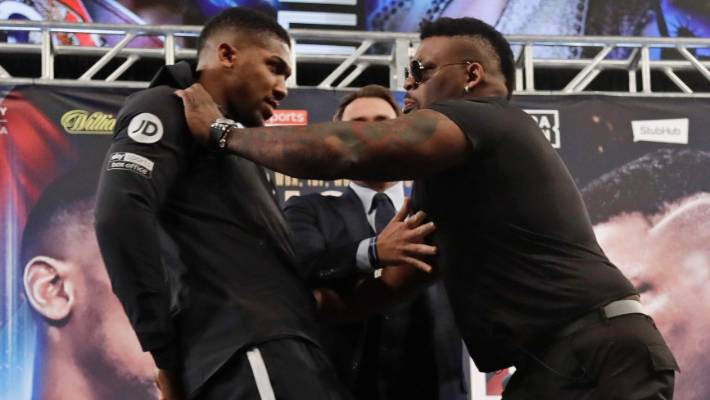 Andy Ruiz Jr warns Joshua: Muscles means nothing to me