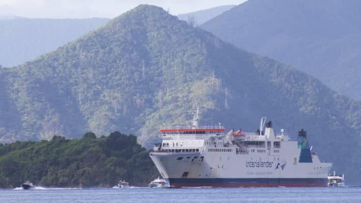 Interislander ferry Aratere.