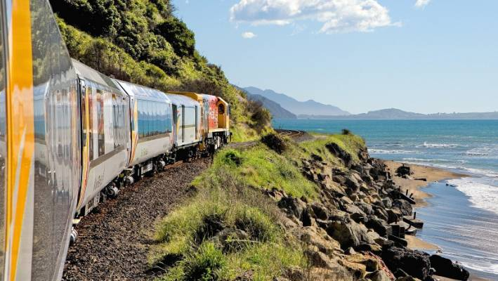 KiwiRail's Coastal Pacific service resumed in December 2018.