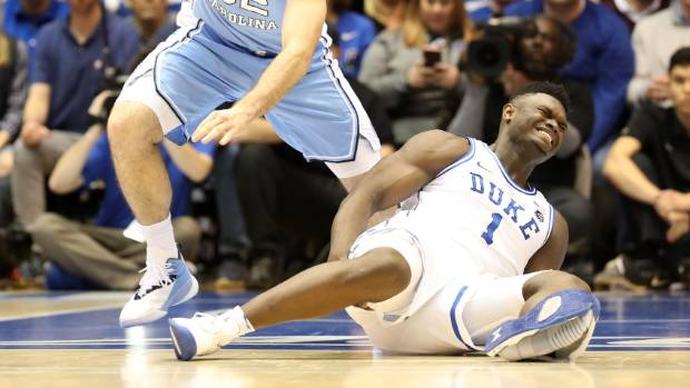 NBA shoe explosion injury
