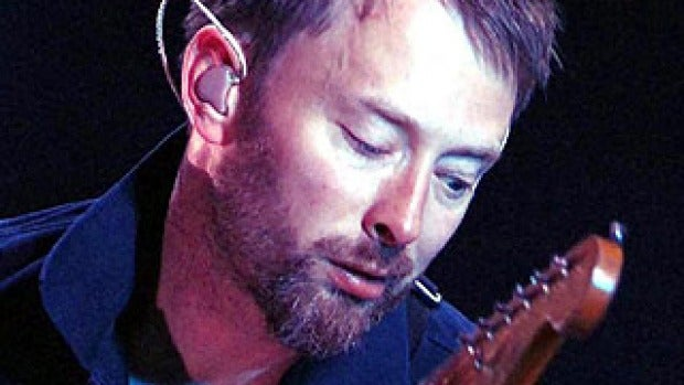 Radiohead's Thom Yorke is noted for his falsetto vocals. He is an acclaimed singer and songwriter.