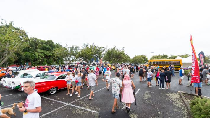 Friday, which was day three of the Americarna festival, traveled to Stratford and Hāwera.