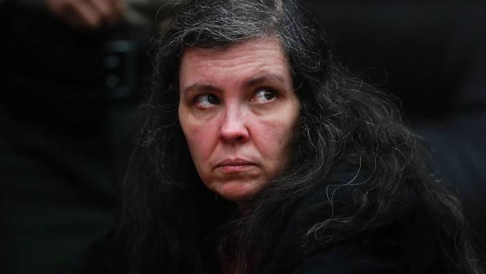 Louise Turpin's face reddened, and she wept during the hearing.
