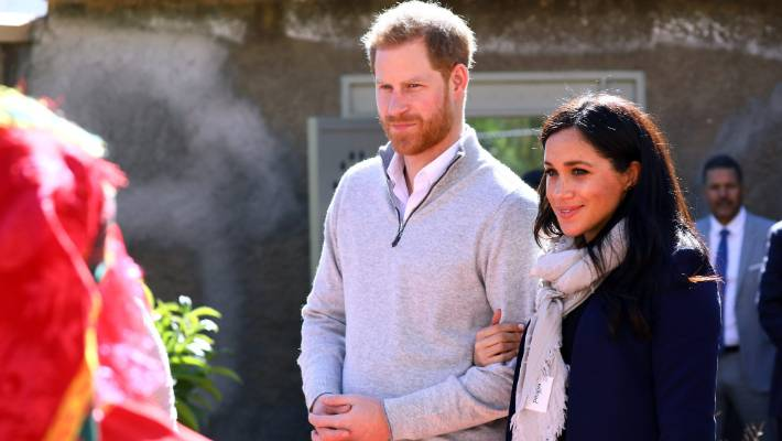 Meghan Markle admits she feels camera shy at times