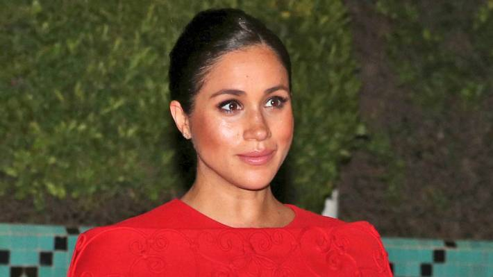 Meghan has chosen not to play the maternity sideshow game at all.