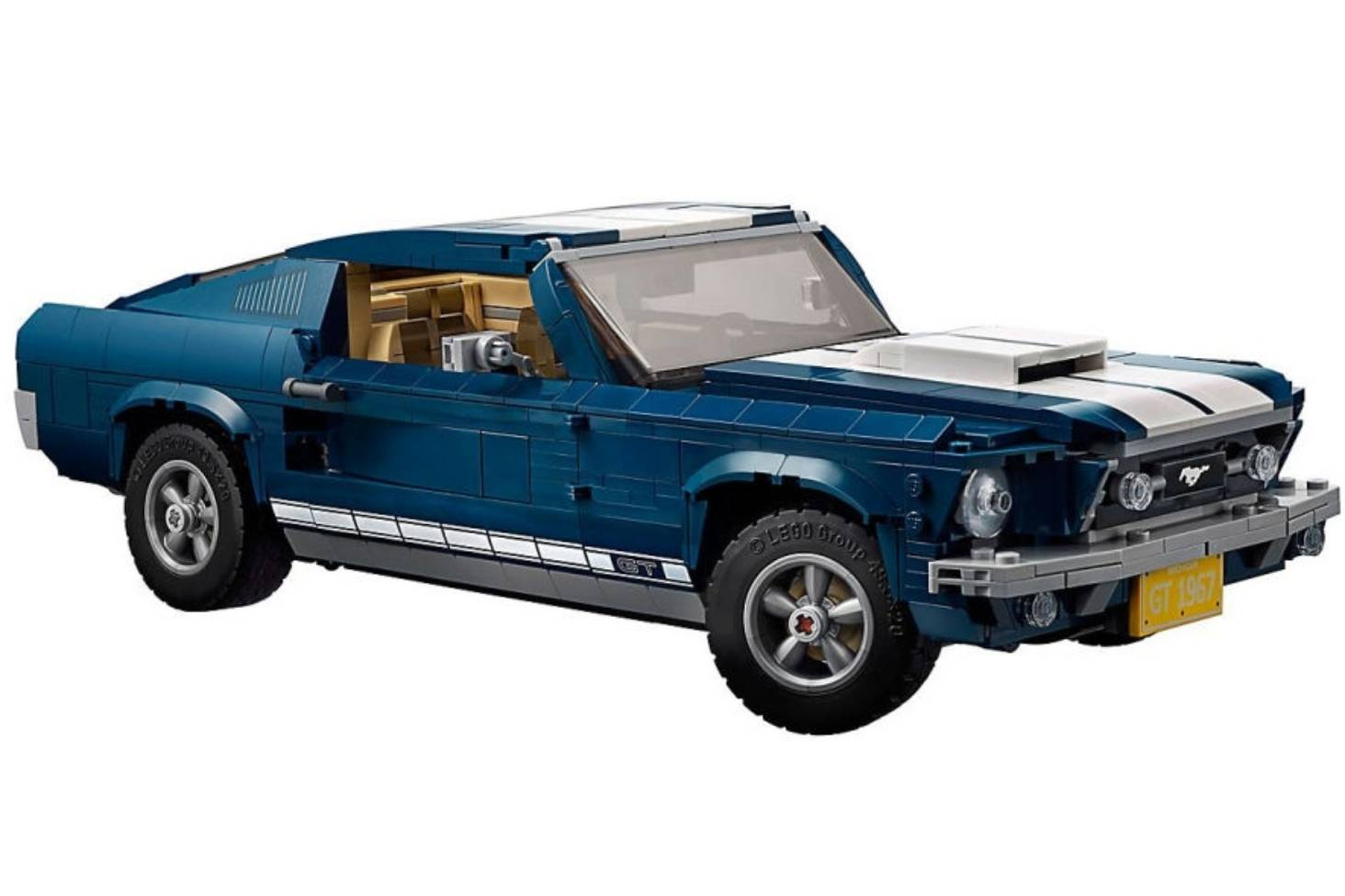Iconic mustang gt gets blocky with lego stuff co nz