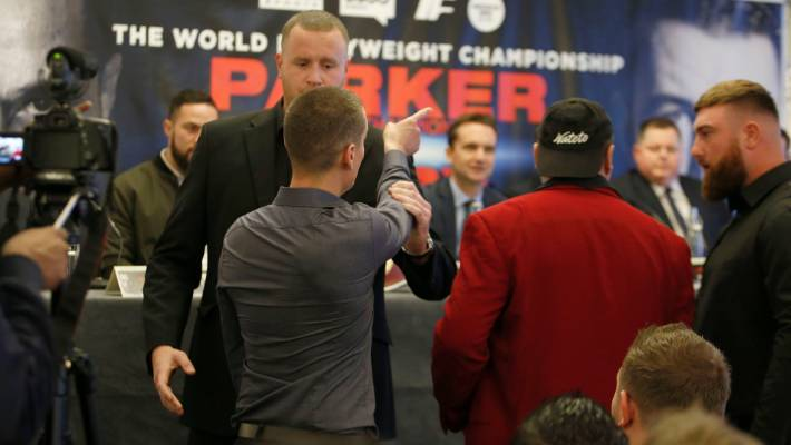 David Higgins calls out Hughie Fury's team over the referee controversy ahead of Joseph Parker's 2017 world title defence in Manchester