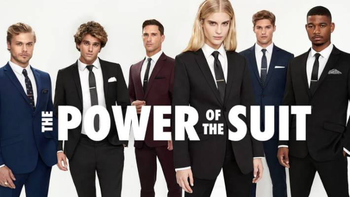 The power of the suit (a power obviously reserved exclusively to men).