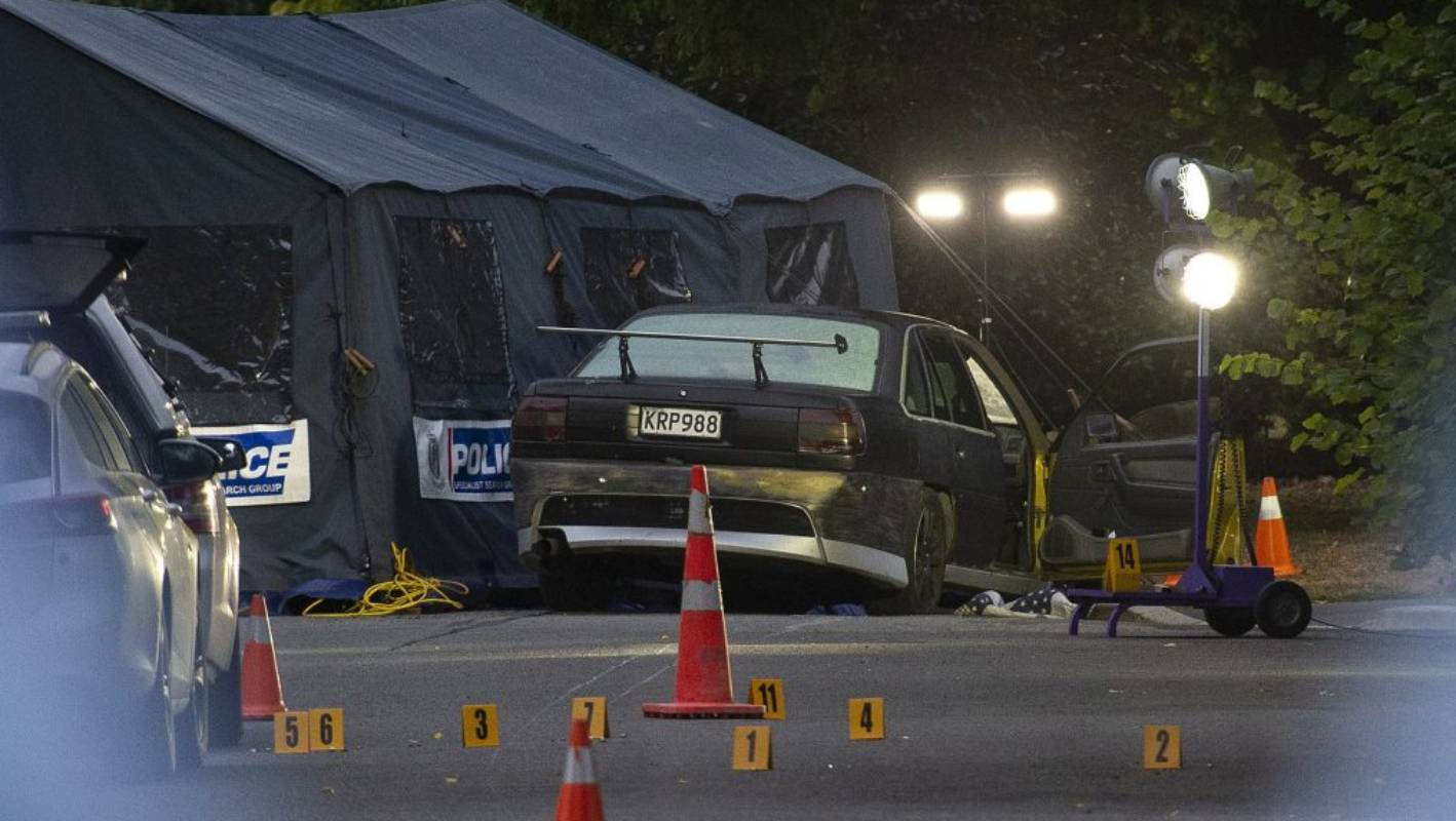 Christchurch Shooting Picture: Christchurch Shooting: Life For Police More Dangerous Than