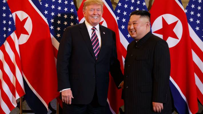 Trump, Kim Cut Short Their Summit Schedule on Thursday