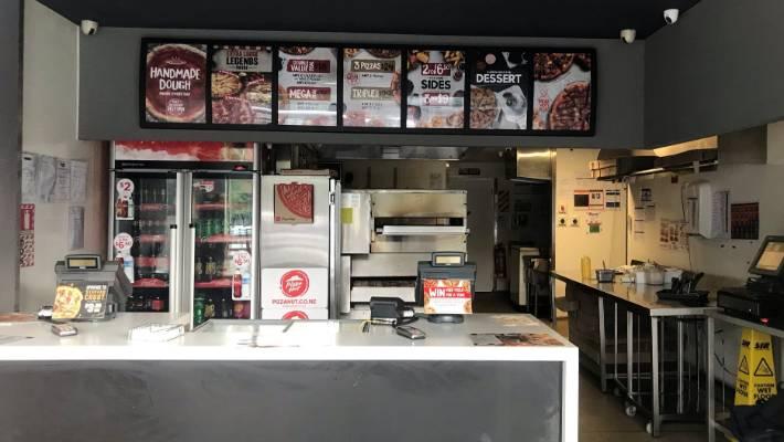 Dunedin North Pizza Hut Saturday morning.