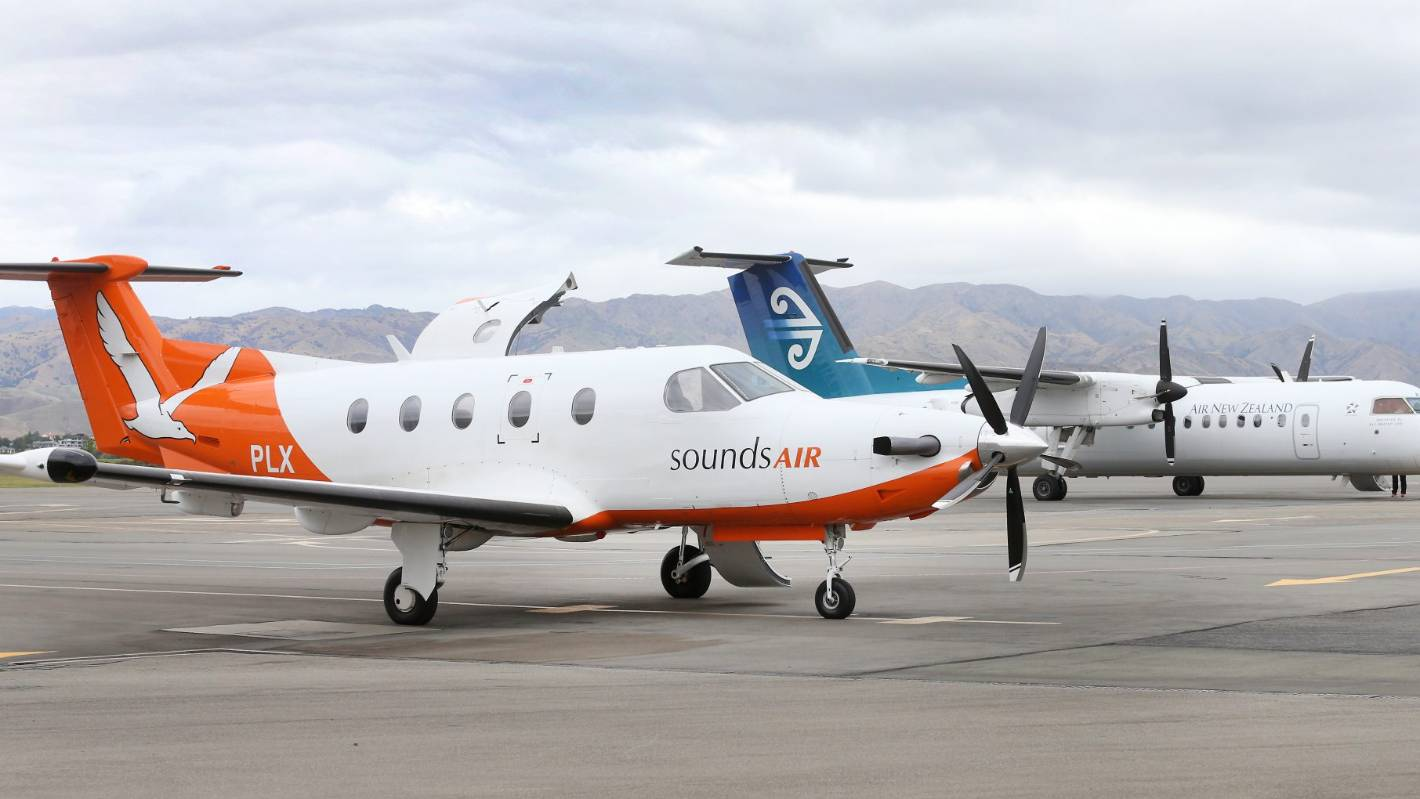 Sounds Air to cancel Napier and Blenheim service