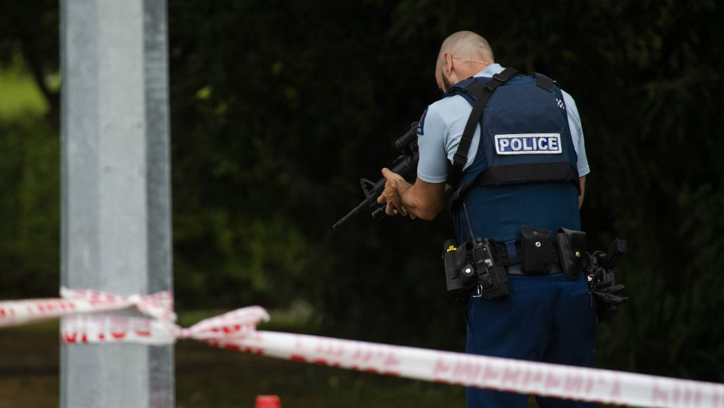 Christchurch Shooting Picture: Christchurch Shooting: All Frontline Cops Told To Arm
