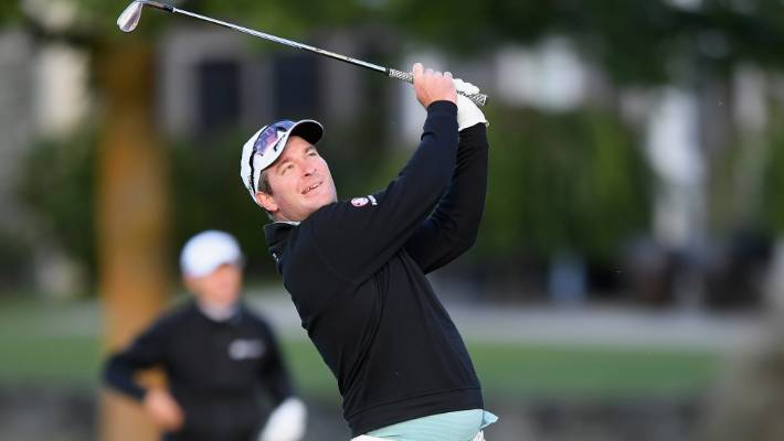 Ryan Fox released a couple of three meters under marker 68 at Millbrook in the opening round of the New Zealand Open in Arrowtown.