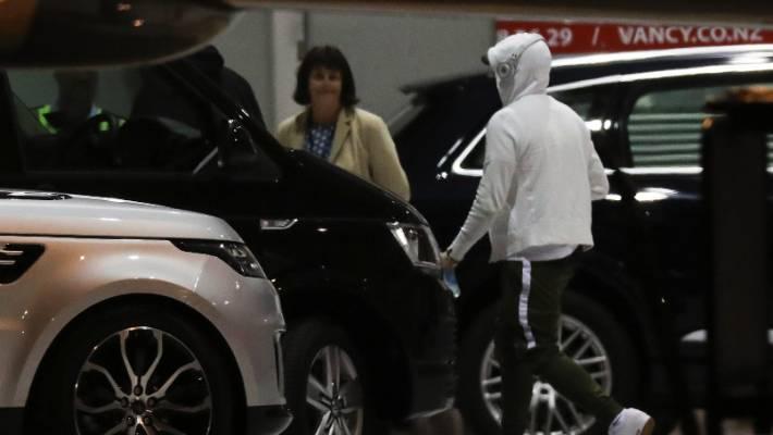 Eminem arrives in Wellington for the Rapture 2019 concert – loozz