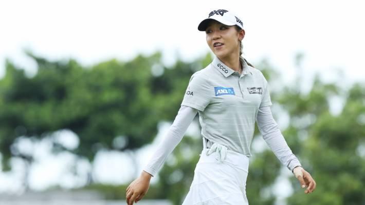 Jutanugarn moves into 1st place at LPGA Singapore