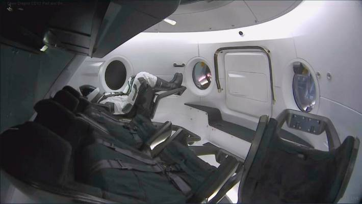 SpaceX set for historic Crew Dragon test flight