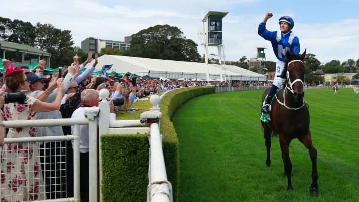 World record win for Winx