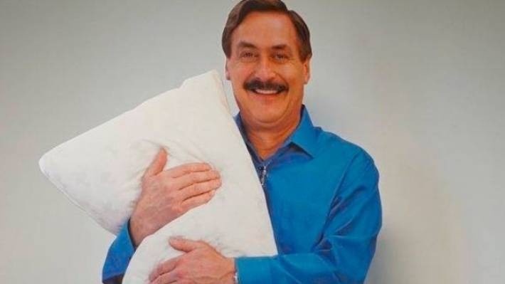 Police Called On Cardboard Cutout Of MyPillow CEO Mike Lindell