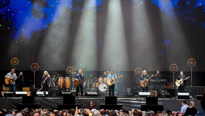 The Eagles delivered an immaculate performance at Dunedin's Forsyth-Barr stadium.
