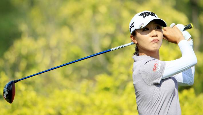 Park surges past Ariya to win LPGA title in Singapore