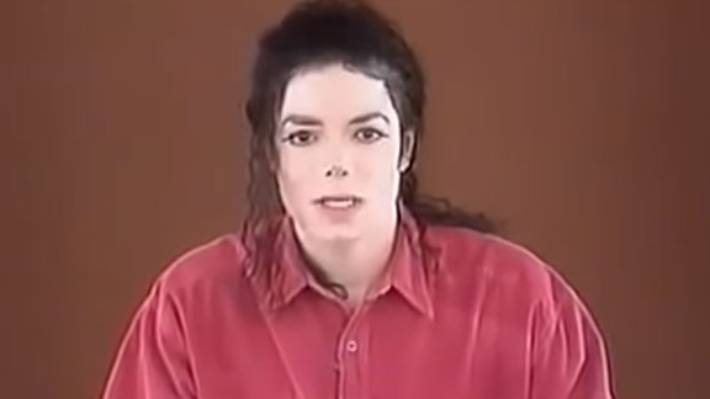 Michael Jackson's public statement was carried live on CNN in 1993