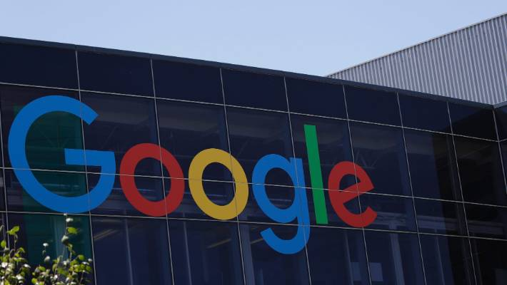 Google's destination in Mountain View, California.